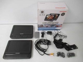 As Is  Sylvania SDVD9960 9  Dual Screen Portable