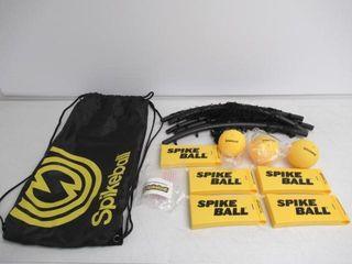 Used  Spikeball 3 Ball Game Set