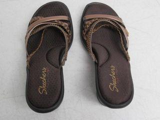 Used  Sketchers Women s 7 M US Heeled Sandals