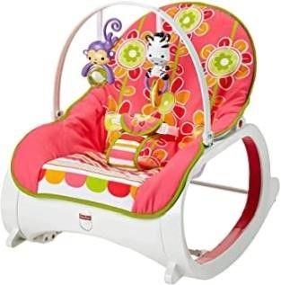 Fisher Price Infant to Toddler Rocker   Floral