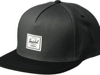 Herschel Men s Dean Cap  Dark Shadow Black  One