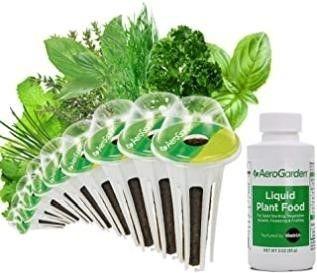 AeroGarden Gourmet Herb Seed Pod Kit  9 Pod
