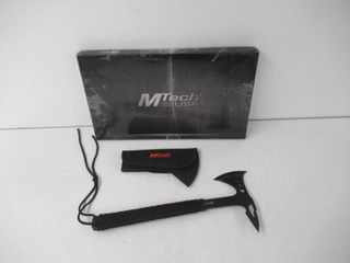 Used  MTech USA MT AXE8B Camping Axe  Black