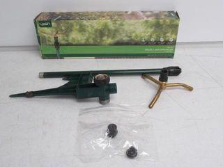 Used  Orbit High Rise 3 Brass 3 Arm Sprinkler