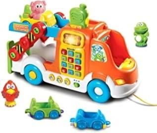 VTech Pull   learn Car Carrier  Frustration Free