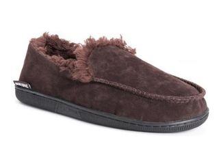 MUK lUKS Men s Medium Faux Fur lined Moccasin