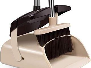 Broom and Dustpan Set Extendable long Handle