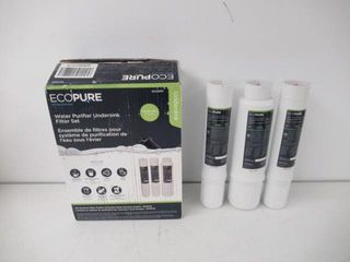 Used  EcoPure Purifier Under Sink Replacement