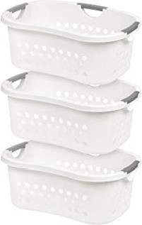 IRIS USA  HlB 1  Comfort Carry laundry Basket