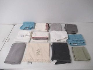 lot Of Various Hand Towels