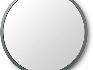 Umbra Hub 24 Round Wall Mirror with Rubber Frame