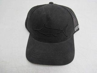 Costa Men s Adjustable Snapback  Black Mesh