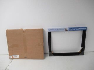 MCS 16x20 Inch Mount Finished Canvases  Black
