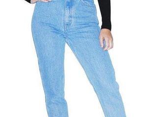 American Apparel Women s 25W 32 High Waist Jean