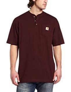 Carhartt Men s large Workwear Pocket Henley Shirt