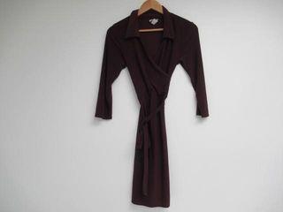 Star Vixen Women s Medium Open Neck Tie Dress