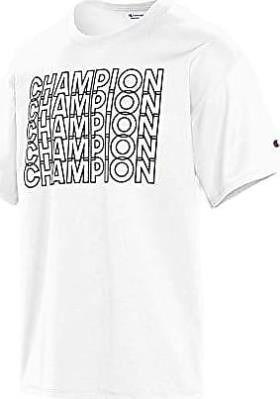 Champion Men s Medium Classic Graphic TEE  White