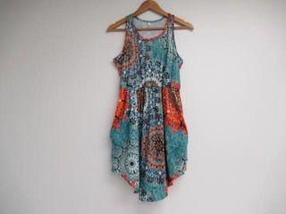 INIBUD Summer Beach Dresses Women  Medium