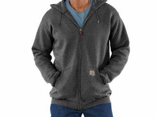 Carhartt Men s Medium Midweight Hooded Zip front