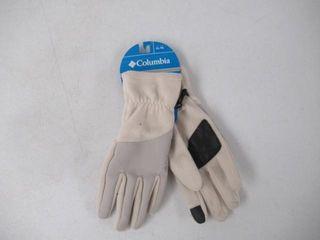 Columbia Sportswear Fleece Gloves  White Black