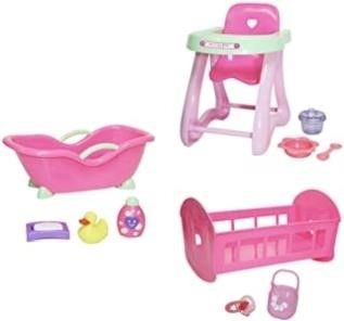 JC Toys Deluxe Doll Accessory Bundle Featuring