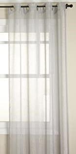 Stylemaster DAZ PlATGMT84 Curtain Panel  Platinum