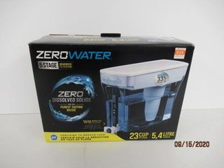 Used  ZeroWater 23 Cup Dispenser with Free Water