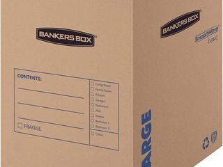 7 Pack Bankers Box large 18 x 18 x 24 Inches