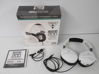 As Is  Turtle Beach Recon 200 Amplified Gaming