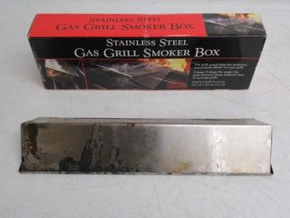 Used  Charcoal Companion Stainless Steel V Shape