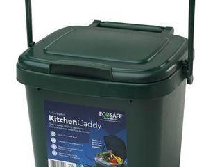 EcoSafe Kitchen Caddy KCGRN Food Waste Bin