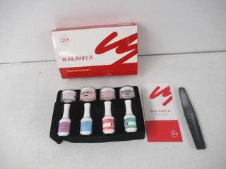 Used  Wakaniya Dip Powder Starter Kit