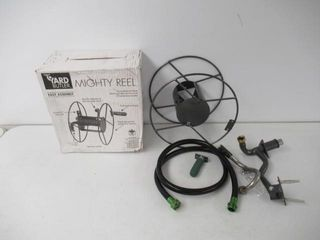 Used  Yard Butler Mighty Reel Gardening Hose