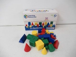 As Is  learning Resources 32 Piece Mini