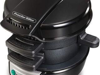 Proctor Silex 25481C Sandwich Maker  Black