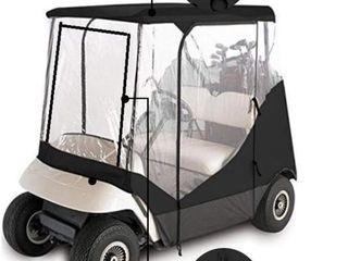 Golf Cart Rain Cover Enclosure Clear Vision