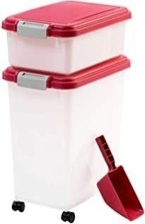 IRIS 3Piece Airtight Pet Food Container Combo