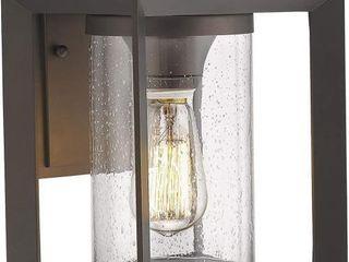 Emliviar Indoor Outdoor Wall Mount light Fixture