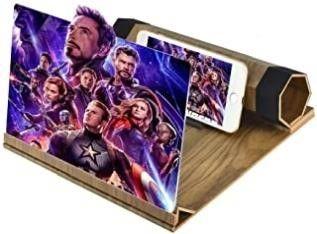 Newseego 12 Screen Magnifier 3D HD Movie Videos