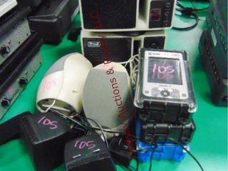 2 anchor speakers   labtec speakers