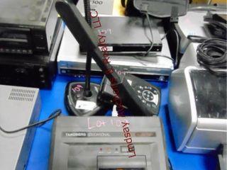 5 pcs  Panasonic VHS DVD player
