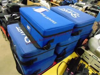 8 blue smart tech bags w  clickers MAY NOT BE COMP