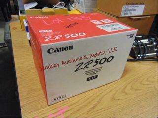 1 canon ZR500 Digital Video Camera