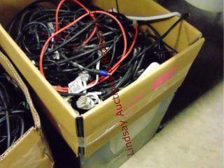 box w  various cords