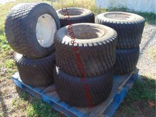 Pallet of 8 tires Topo Tuff trac 24x 12x 12 NHS