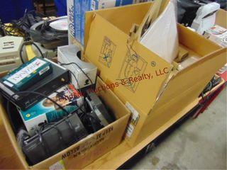 Group w  Elmo document camera   box of misc