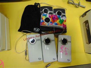 7 flip video cameras