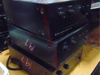 3 TOA integrated amplifier BG 115