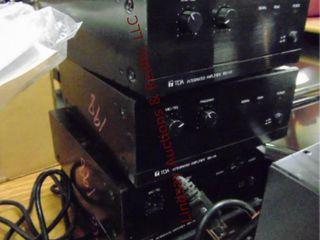 4 TOA integrated amplifier BG 115