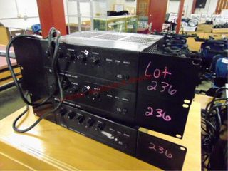 3 TOA integrated amplifiers BG 1015